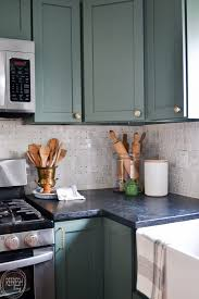modern kitchen cabinets on a budget modern kitchen with vintage touches budget friendly