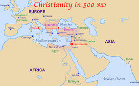 New Testament Map Historical Foundations Of Christianity
