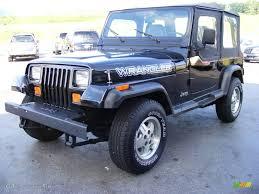 jeep wrangler turquoise 1994 black jeep wrangler s 4x4 13888626 gtcarlot com car