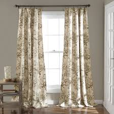 Curtain Panels Botanical Garden Window Curtain Panel Set