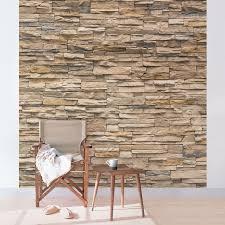 steinmauer wohnzimmer fototapete steinmauer wohnzimmer ruhbaz