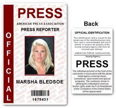 official press pvc id card