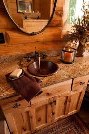rustic bathroom with copper bathroom sink timeless copper