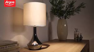 Buy Table Lamp Buy Colourmatch Pair Of Touch Table Lamps Cream Youtube