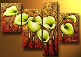modern paintings on canvas abstract painting set12039