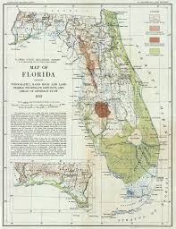 Fl State Map by A Twist Of U0027phate The Florida Memory Blog