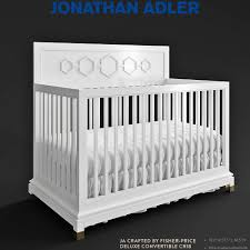 jonathan adler deluxe convertible crib 3d model in bedroom 3dexport