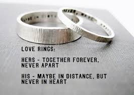 wedding quotes engraving quote idea rings his n hers promise rings wedding rings