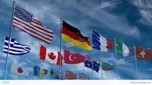 Flags Of Nations Flags Of Different Nations Hq Animated Stock Animation 3124741