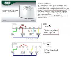 digital wireless thermostat hunter thermostat wiring diagram
