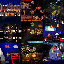 halloween decorations projector lights lychee outdoor moving