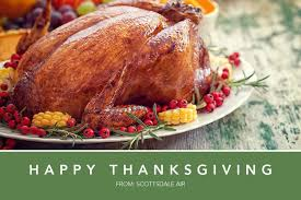 happy thanksgiving from scottsdale air scottsdale air heating