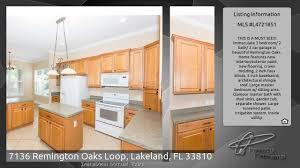 Kitchen Cabinets Lakeland Fl 7136 Remington Oaks Loop Lakeland Fl 33810 Youtube