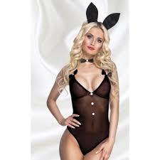 ladies playboy late night bunny costume a85502
