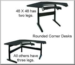 Desks For Corners Pacs Desk Rounded Corners