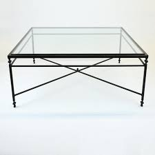 Chic Glass Square Coffee Table Huge Square Coffee Table With X