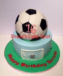 sweet 16 soccer theme birthday cake cakecentral com