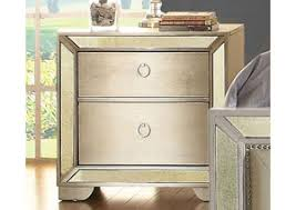 Silver Nightstands Keep Your Bedroom Organized With One Of Our Fashionable Nightstands