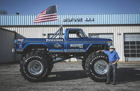 monster truck bigfoot video meet the man behind the first bigfoot monster truck wsj