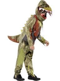Halloween Costumes Dinosaur Deluxe Deathly Zombie Dinosaur Boys Halloween Fancy Dress Childs
