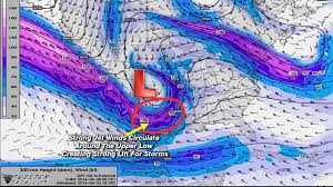 Jetstream Map Omega Block Next Week Won U0027t Allow A Warm Up Beyond The Studio