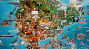 Children S Map Of The World by Children U0027s Map Of The World Youtube