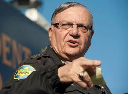 contempy former arizona sheriff convicted of criminal contempt in targeting