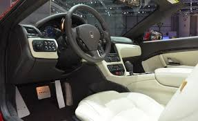 maserati gt sport interior maserati granturismo convertible price modifications pictures