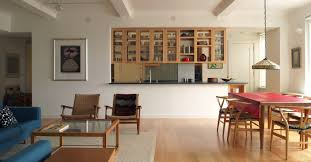 double sided kitchen cabinets open kitchen with double sided hanging maple framed glass cabinets