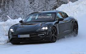 new porsche electric 2020 porsche mission e spy shots and video