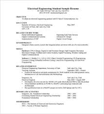 Resume Sample Of Mechanical Engineer Resume Template For Fresher 10 Free Word Excel Pdf Format
