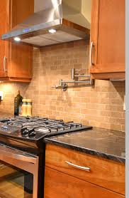 28 travertine tile kitchen backsplash travertine and glass