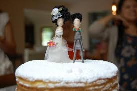 cake topper couple custom personalized to look like you hair color
