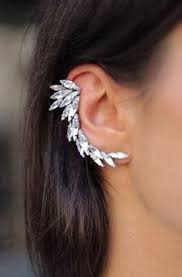 earrings that go up the ear up the ear earrings ear lobe droop are your earrings pointing