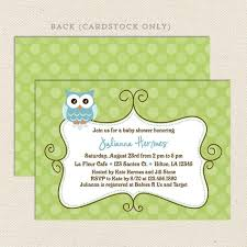 owl boy baby shower invitation lil sprout greetings
