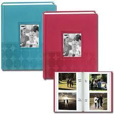 4 x 6 photo album pioneer circles embossed photo album 200 4x6 photos assorted 4