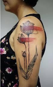 tulip tattoo by aline wata design of tattoosdesign of tattoos