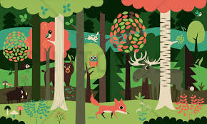 in the forest green wall mural photo wallpaper photowall in the forest green wall mural photo wallpaper photowall