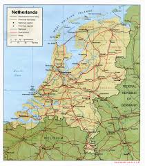 netherlands map netherlands maps perry castañeda map collection ut library