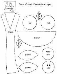 printable cut and paste worksheets worksheets