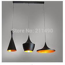 Black Iron Pendant Light Vintage Black Metal Pendant Light Max 180w With 3 Lights Painted