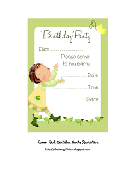 free green birthday party invitation printable best gift