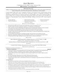 Certified Financial Planner Resume Objective Financial Advisor Resume Objective