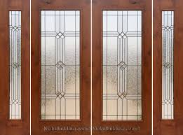 Patio Doors With Venting Sidelites by Rustic French Doors With Sidelights Solid Knotty Alder Doors