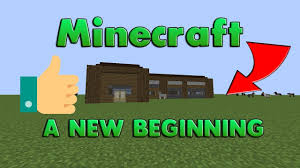minecraft a new beginning let u0027s build a medieval city starting
