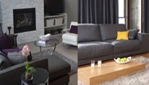 décoration canapé décoration salon gris tout pratique