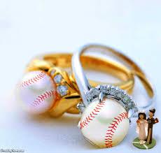 baseball wedding ring baseball wedding rings pictures freaking news