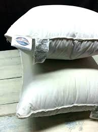 bed pillow reviews pacific coast down pillows gusset pillow protector for bed pillows