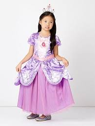 sofia the dress disney sofia the fancy dress costume kids george at asda