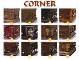 Common TD-A19 China venda direta da fábrica de madeira caixão com preço  @PL29